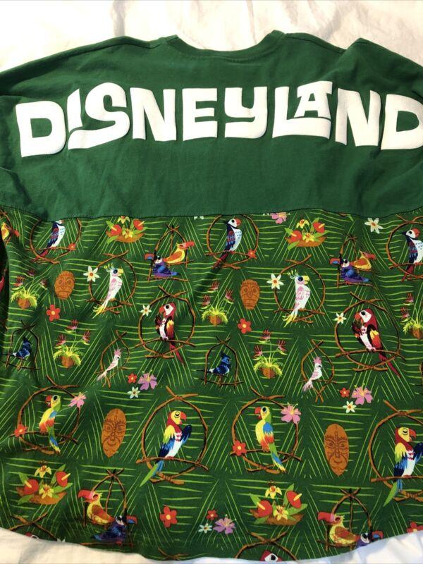 Disney parks Disneyland The Enchanted Tiki Room Spirit Jersey adult large new