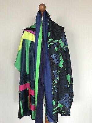 Pierre-Louis Mascia pure Silk Modal scarf wrap 100% authentic original DEFFECT