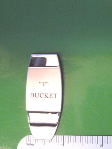 T - BUCKET ford -  money clip ORIGINAL BOX