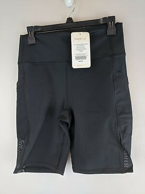 Women's Fabletics Mila High Waisted Pocket Short With Pockets -Size L- Black