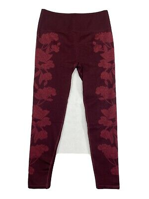 FABLETICS Women's High Waisted Seamless Floral Legging Second Skin Feel Breahabl
