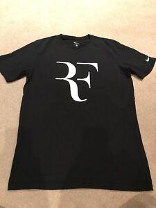 Roger Federer Nike T Shirt - Size Medium