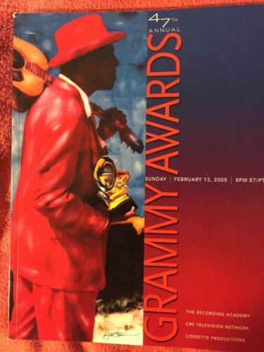 2005 47TH ANNUAL GRAMMY AWARDS PROGRAM KANYE WEST ALICIA KEYS PRIORITY SHIPPING