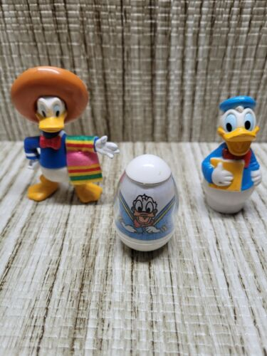 Donald Duck WEEBLE WOBBLE AND 2 OTHER DONALD FIGURE