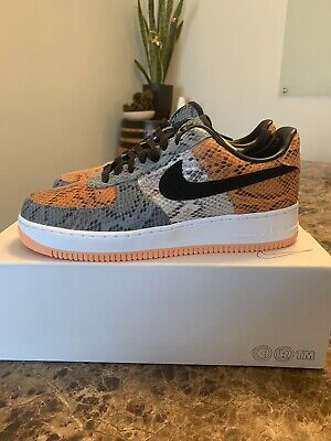 Size 9.5 Air Force 1 Nike By You ID Shattered Backboard Colorway Snake Skin