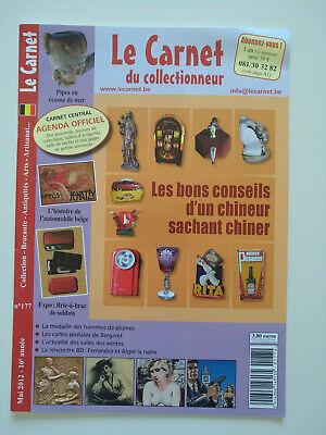 Magazine (comme neuf) - Le carnet du collectionneur 177 (mai 2012)