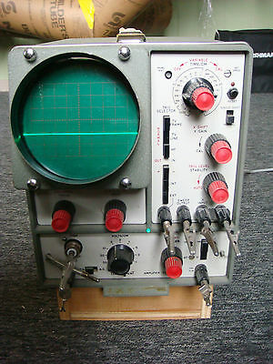 Vintage Telequipment Tektronix S43 Oscilloscope In Good Working Condition