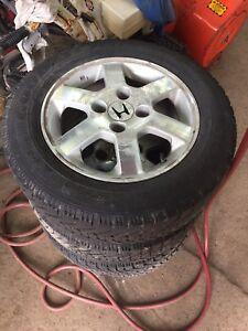 Mags Honda Accord sur pneu d'hiver non nego