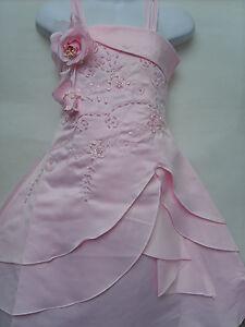 Superb-Corset-Back-Flower-Girls-Prom-Christening-Wedding-Bridesmaid-Dress-3-4Yrs