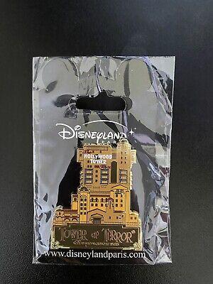 Tower Of Terror Opening Day Pin Disneyland Paris