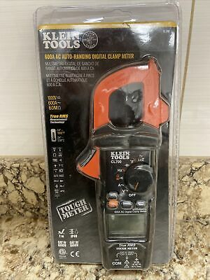 New Klein Tools 600 Amp Ac True Rms Auto-ranging Digital Clamp Meter Cl700