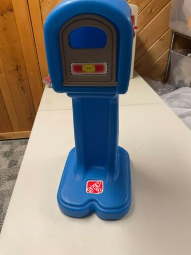 STEP 2  PRESCHOOL DRAMATIC PLAY STAND ALONE BLUE MAILBOX  POST OFFICE