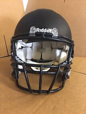 Used Football Helmet Riddell Revolution Jaw Pads