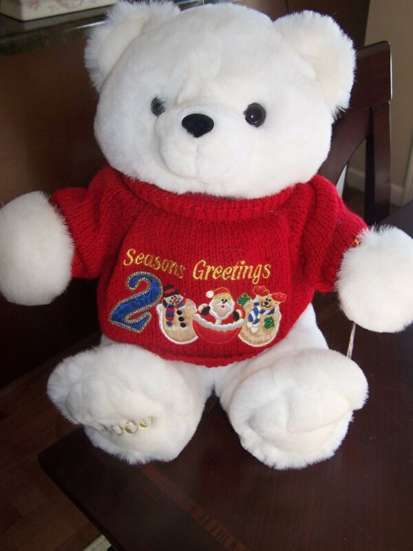 2000 Special Edition Friends are Forever Christmas Bear, very nice