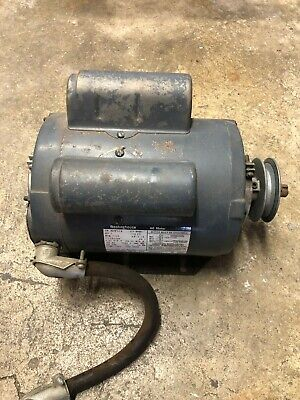 1 Hp Electric Motor 56 Frame Single Phase 1725 Rpm 115230v 10.85.4a Ft 58