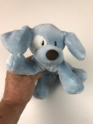 Baby Gund - Spunky, Baby Blue Puppy Dog. Great Condition. 8 inch. No Tags
