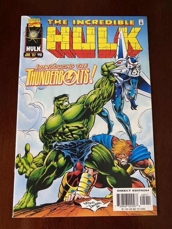 Hulk 449 - First Thunderbolts!