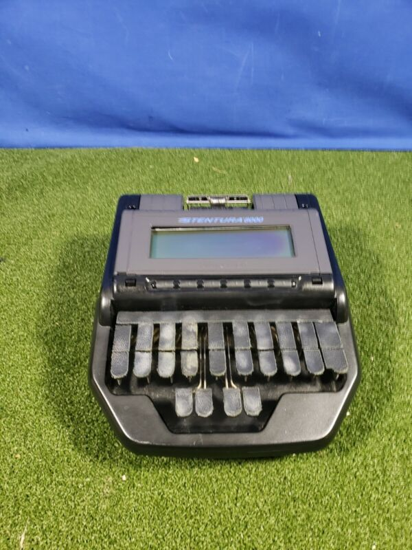 Stenograph Stentura 8000 8000LX court reporting writer untested as-is parts