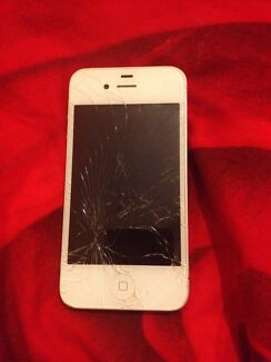 Cracked iPhone 4 Kensington Norwood Area Preview