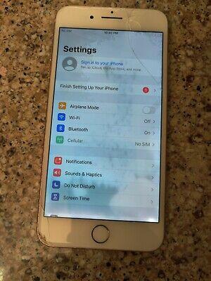 Apple iPhone 8 Plus - 256GB Gold (Unlocked) A1864 (CDMA + GSM) clean imei *read*