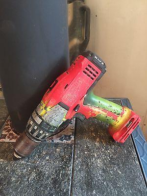 Milwaukee 48-11-1830  Cordless 18 v Hammer Drlll Driver..Good Operating cond!!!! Hammer Drill Operation