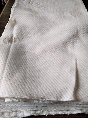 "Boyteks Woven Mattress Ticking NEW Set of 13 Sample Pieces 26"" x 13"" Fabric"