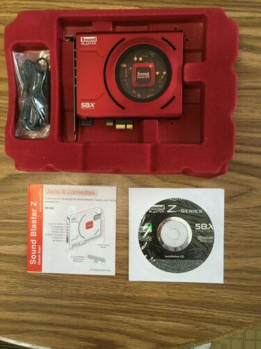Creative Sound Blaster Z Sound Card