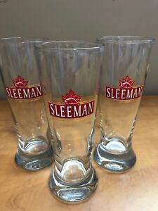Sleeman beer collector glasses