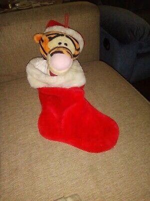 Plush Tigger Christmas Holiday Stocking