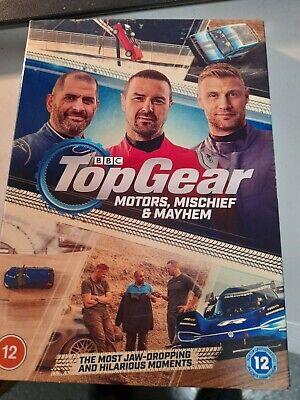 BBC: TOP GEAR - MOTORS, MISCIEF & MAYHEM (DVD 2020) NEW SEALED