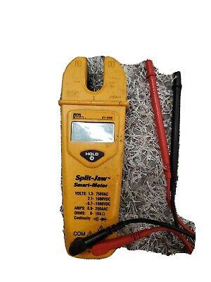 See Description Ideal 61-096 Automatic Split-jaw Smart Meter