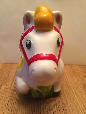 Wells Fargo Chinese Lunar New Year  Year Of The Horse  Ceramic Piggy Bank New
