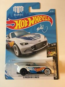 2018 Hot Wheels '15 Mazda MX-5 Miata