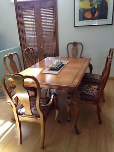 Dining Table and Chairs Hornsby Heights Hornsby Area Preview