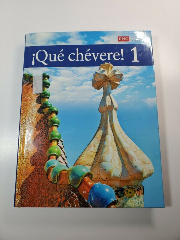 Que Chevere 1 Learning Spanish Textbook Hardcover 2016 EMC Publishing