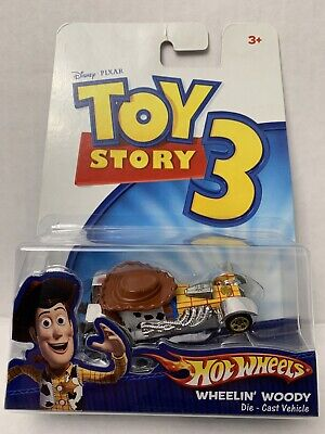 Hot Wheels Disney PIXAR Toy Story 3 - Wheelin' Woody 1:64 Scale