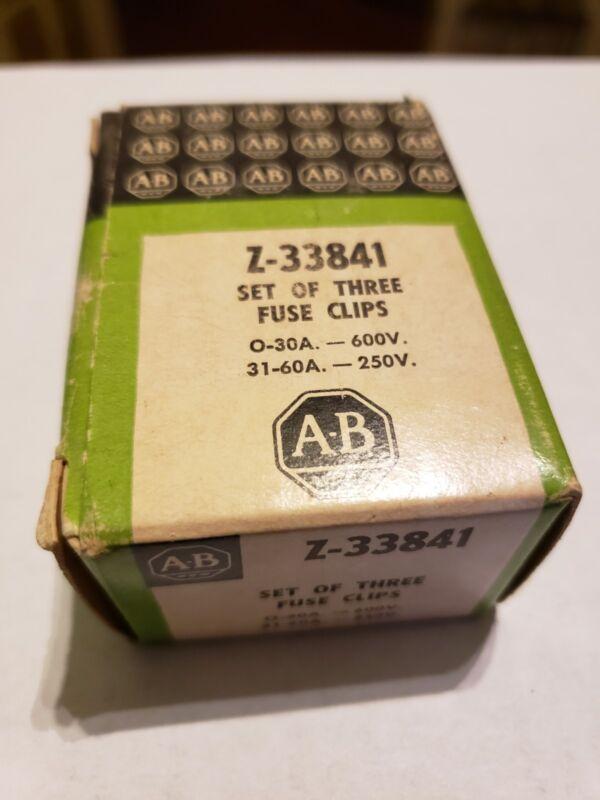 Allen Bradley - Z-33841 Fuse clips