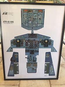 Cockpit posters - ATR aircraft Gilmore Tuggeranong Preview
