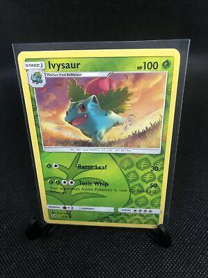 x4 Ivysaur SM Shining Legends common 2//73