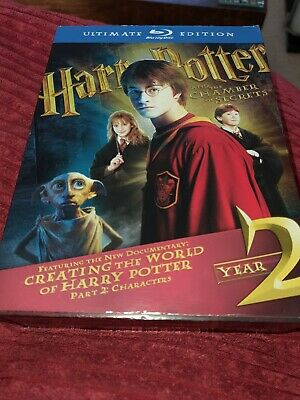 Harry Potter and the Chamber of Secrets Ultimate Edition Blu-ray 3-Disc
