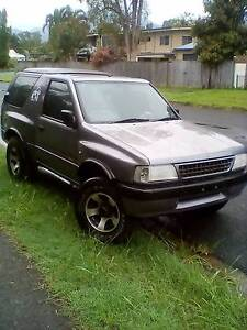 1997 Holden Frontera Wagon White Rock Cairns City Preview