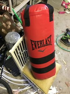 Everlast punching bag mint condition