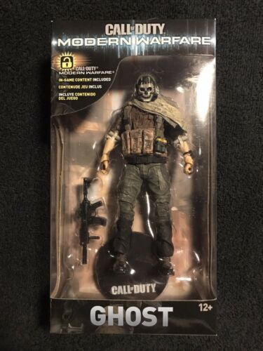 "McFarlane Toys Call of Duty S1 Modern Warfare 2 7"" Deluxe Action Figure Ghost"