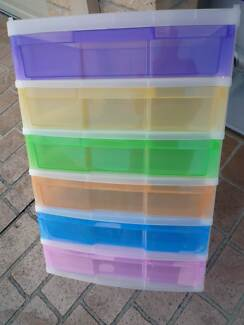 SCRAPBOOKING/STORAGE DRAWERS Caringbah Sutherland Area Preview