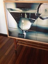 Retro cocktail cabinet sideboard buffet wine bar 1 of a kind Bexley Rockdale Area Preview