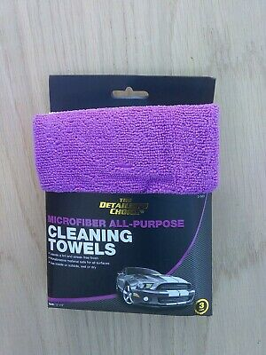 The detailers choice Microfiber All-Purpose Cleaning Towels