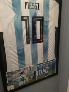 Lionel Messi signed jersey
