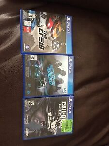 The Crew, Need For Speed, COD Ghosts