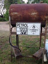 Farm / Machinery Fuel Tank Petrol Bowser On Stand  Mobil Australia Dromana Mornington Peninsula Preview