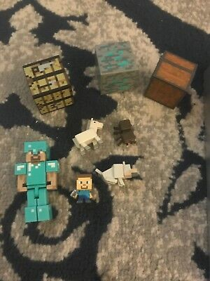 minecraft toys lot